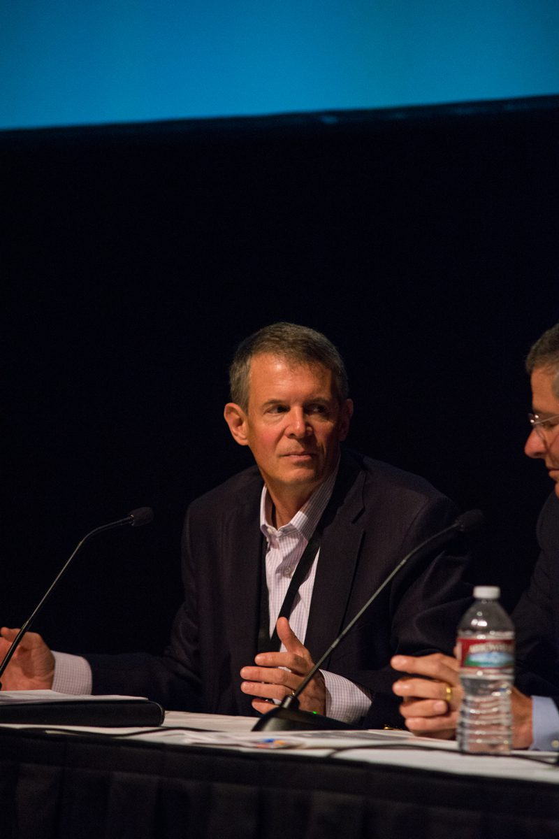 Donald F. Santa Jr., President and CEO of the Interstate Natural Gas Association of America, participates in a pipeline and distribution panel