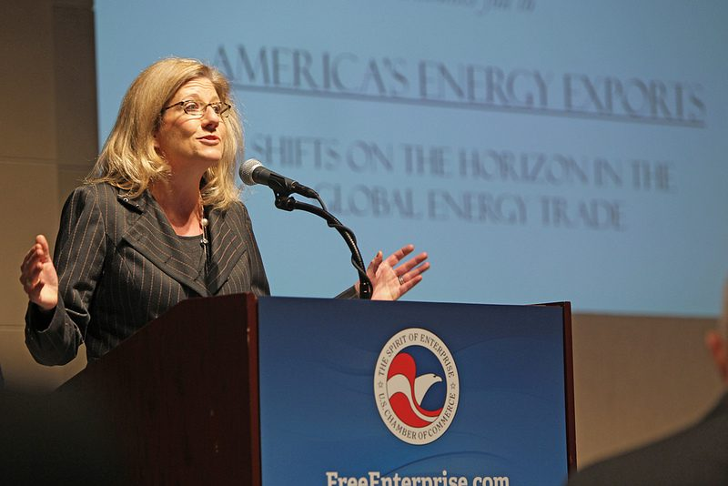Karen Alderman Harbert, President and Chief Executive Officer of the U.S. Chamber of Commerce's Institute for 21st Century Energy (Institute)