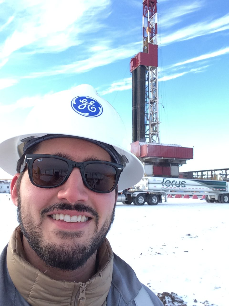 Phil Fusacchia, GE Oil & Gas Program Manager of the Last Mile Fueling.  Photo by GE Oil & Gas