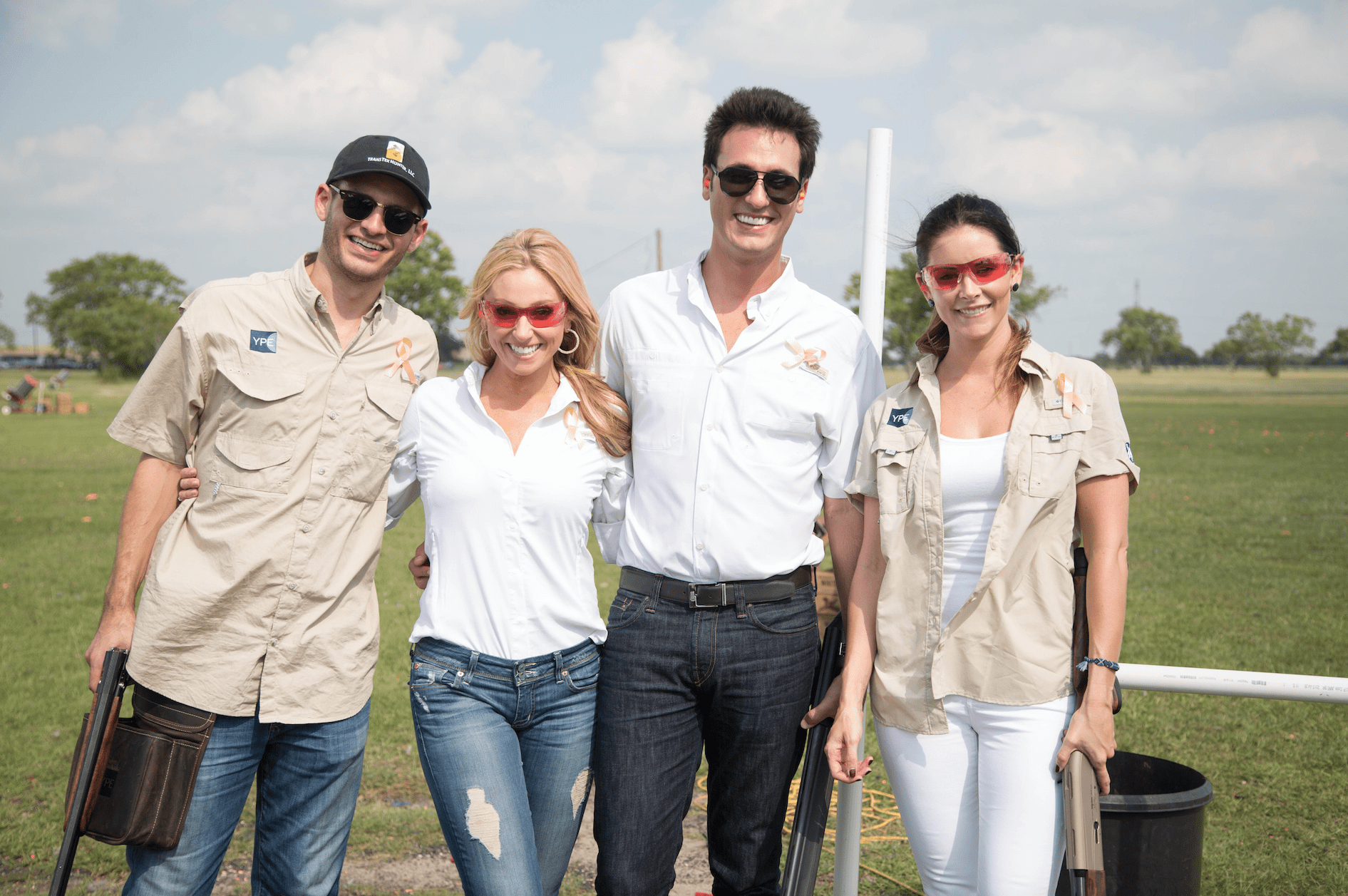 YPE Houston Clay Shoot for a Cause.	Photo Courtesy of YPE
