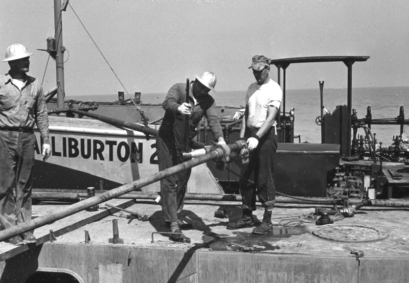 Halliburton Offshore Blowout Series - 1950s
