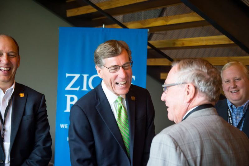 A. Scott Anderson is president and chief executive officer of Zions Bank. Zions Bank is Utah's oldest financial institution.  Anderson spoke at the Rocky Mountain Energy and Infrastructure Summit as well as has clients and customers in the energy industry.
