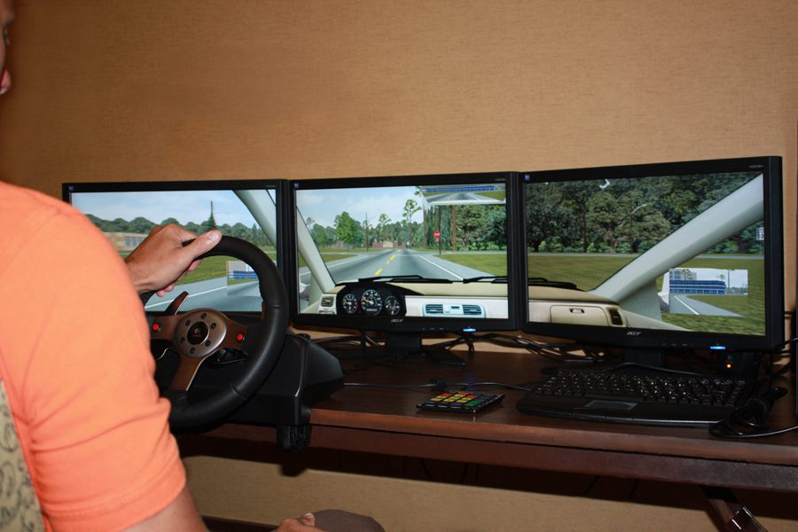 As part of its commitment to workplace safety, LWCC offers an interactive virtual driving simulator to its policyholders.