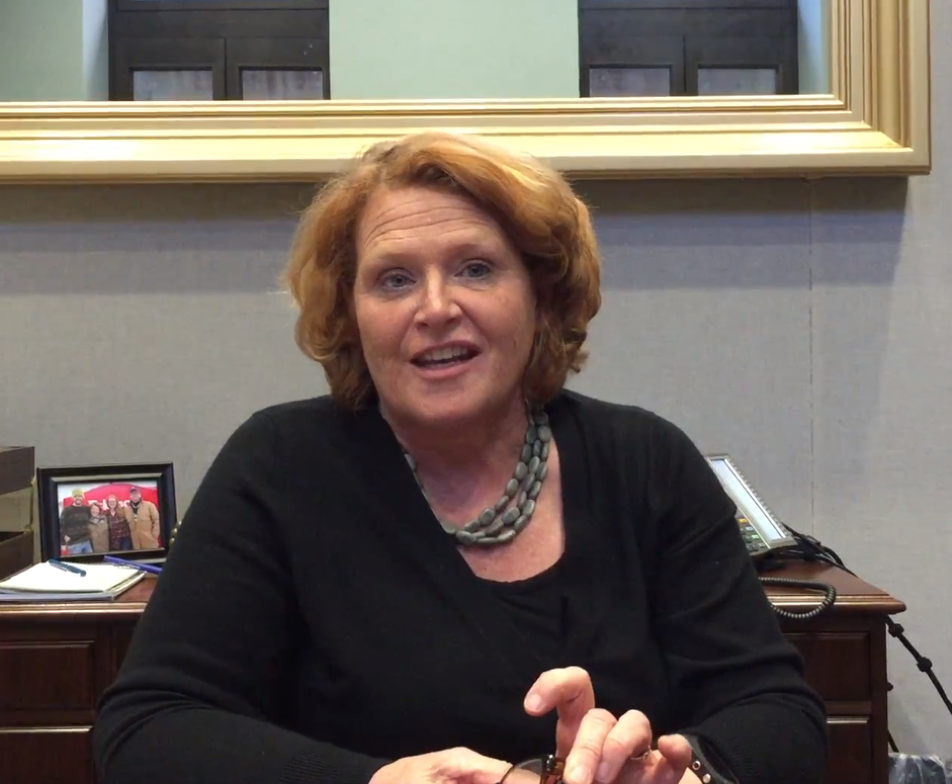 Sen. Heidi Heitkamp, Statement via webcast, Dec. 16, 2015