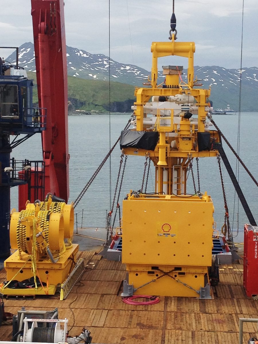 Trendsetter designed Arctic capping stack and subsea accumulator module. Courtesy of Trendsetter.