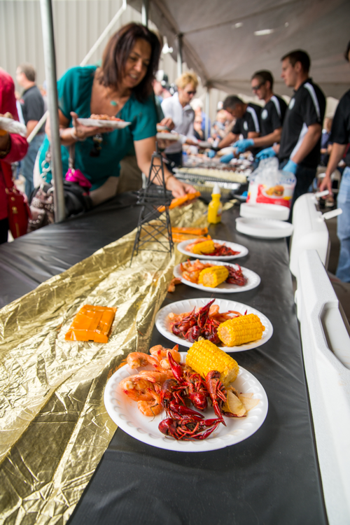 Local members from the communities are a staple at all oil and gas BBQs, including Cajun BBQ.