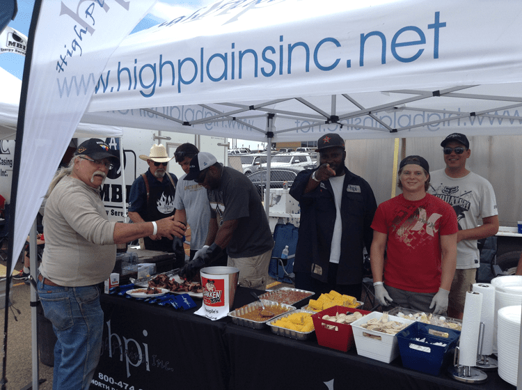 High Plains Inc. gears up for the Bakken BBQ's pitmaster competition.