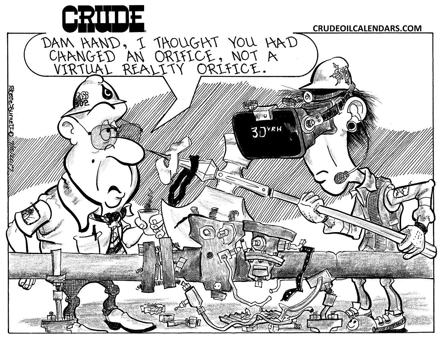 crude orifice