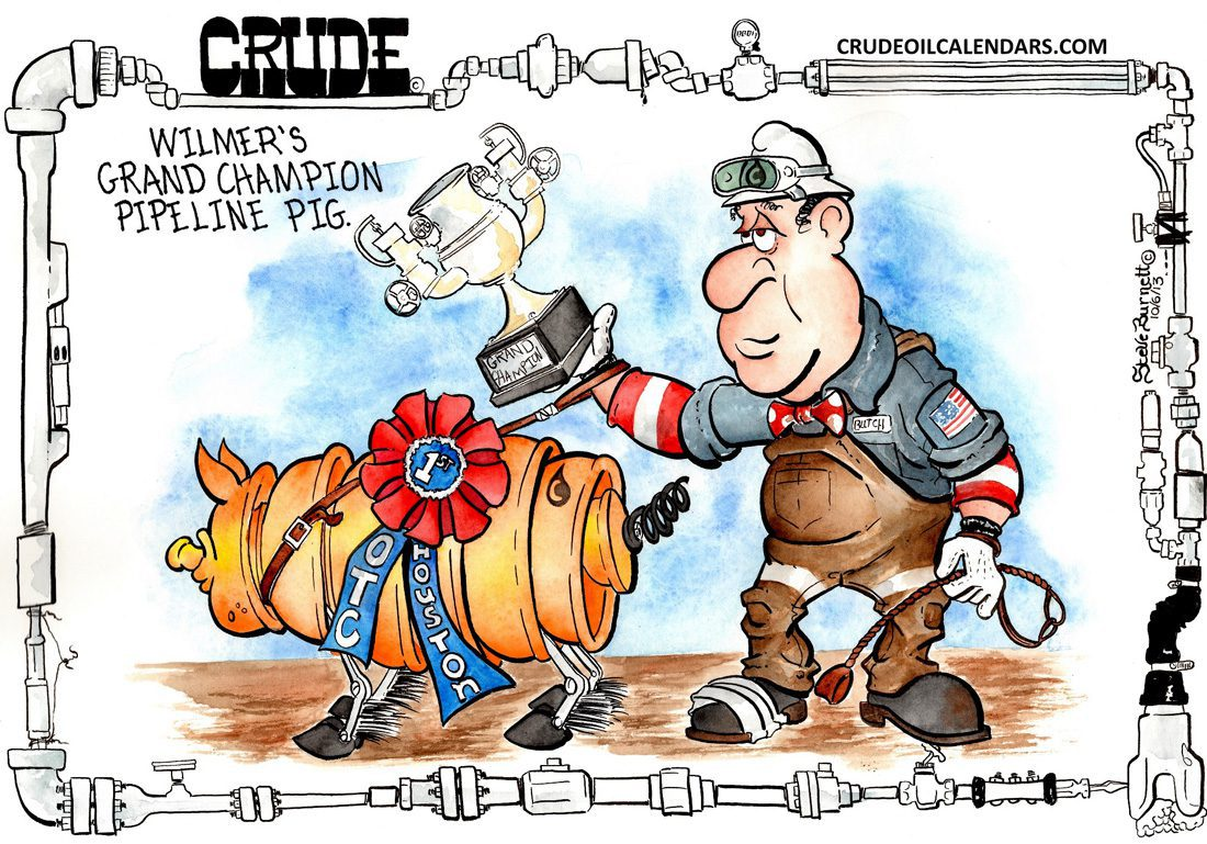 Oilman Cartoon – September/October 2017