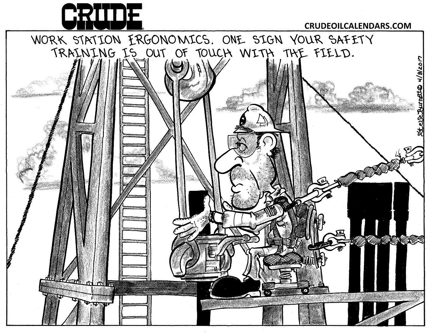 Crude Ergonomics