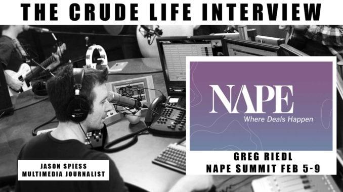 Energy Events: NAPE EXPO, Greg Reidl