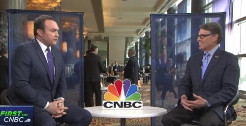 U.S. Energy Secretary Rick Perry Speaks with CNBC's Brian Sullivan