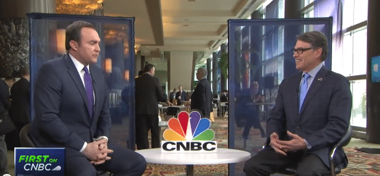: U.S. Energy Secretary Rick Perry Speaks with CNBC's Brian Sullivan