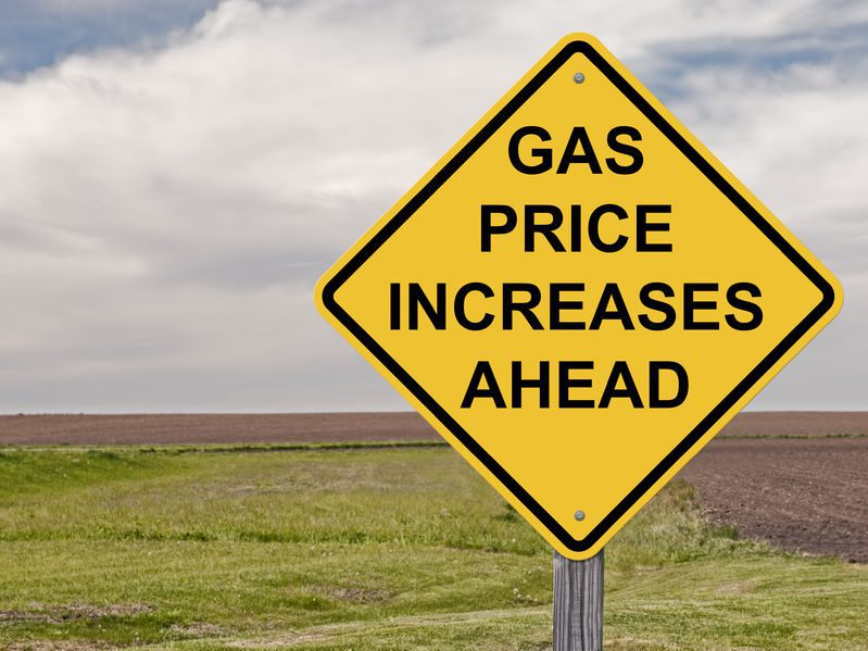 Gasoline And Crude Oil Prices Increase