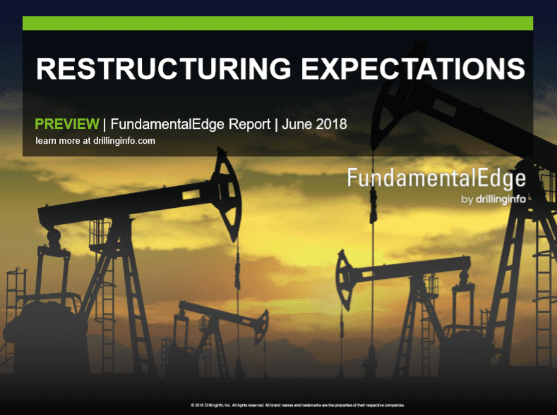 Drillinginfo Restructuring Expectations