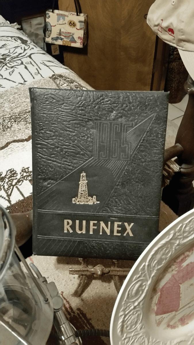 Rufnex Yearbook, Crooked Oak High School, 1960s