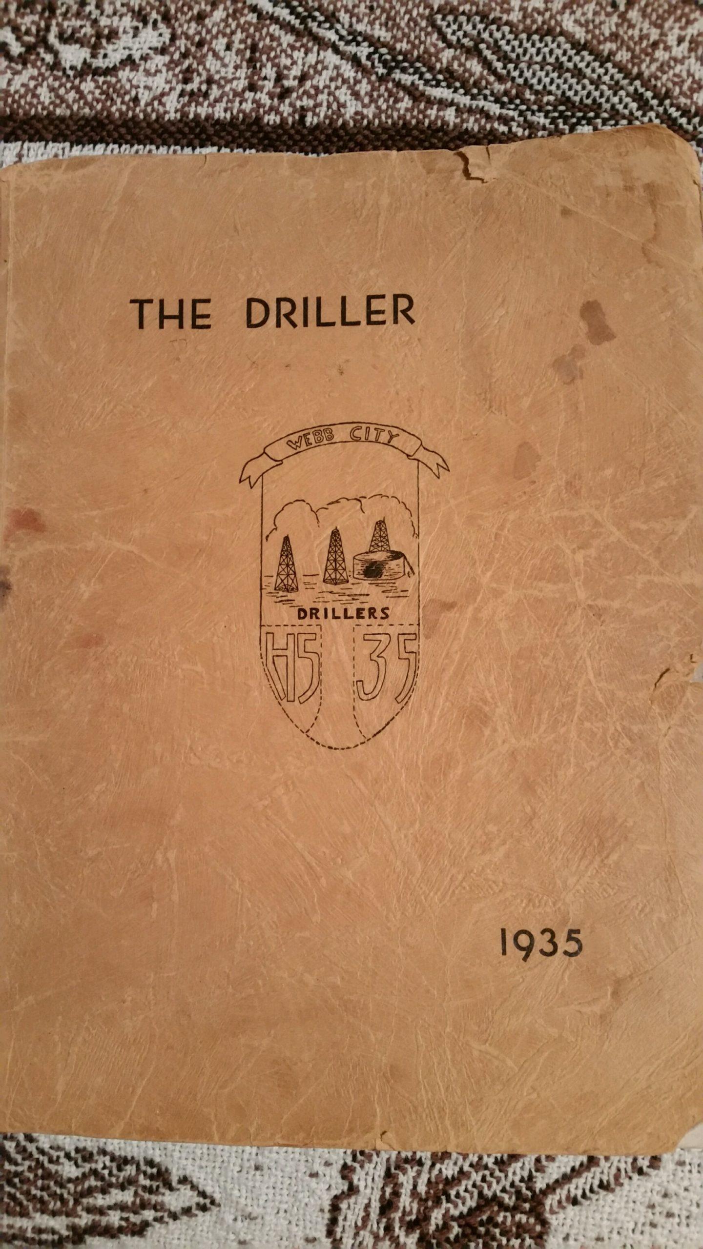 Webb City High School Yearbook, 1935