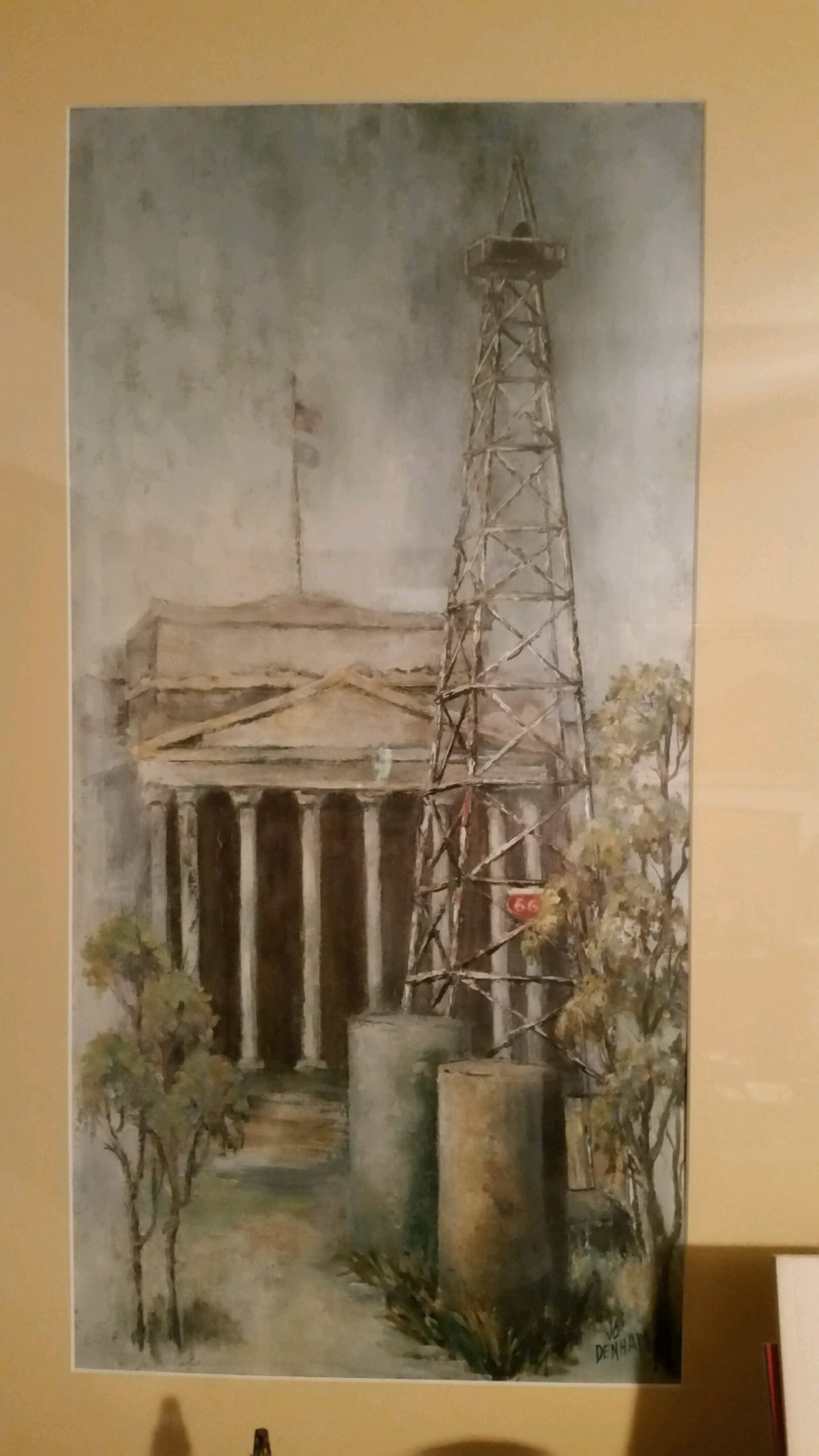 Oil Well at Oklahoma State Capital