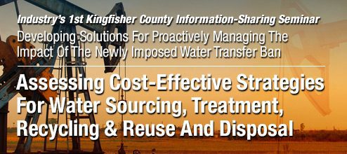 Cost-Effective Water Management Congress - SCOOP & STACK 2018 @ Skirvin Hilton Hotel | Oklahoma City | Oklahoma | United States