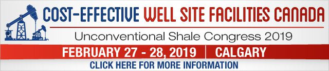 Cost Effective Wellsite Facilities Canada 2019