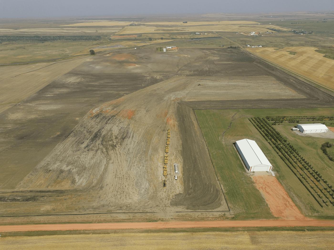 Davis Refinery site - 700 acres - North Dakota