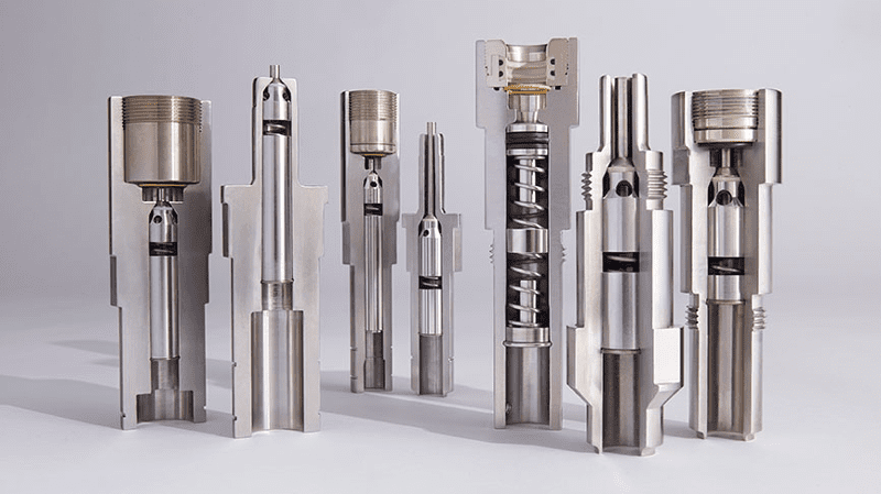 Hydraulic Couplings – Photo courtesy of Hunting PLC