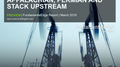 Latest interim report focuses on Appalachian, Permian and STACK upstream activity over next ten years