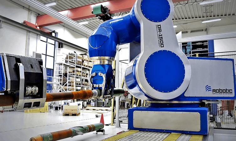 Drill Floor Robot DFR-1500 - Photo courtesy of Nabors