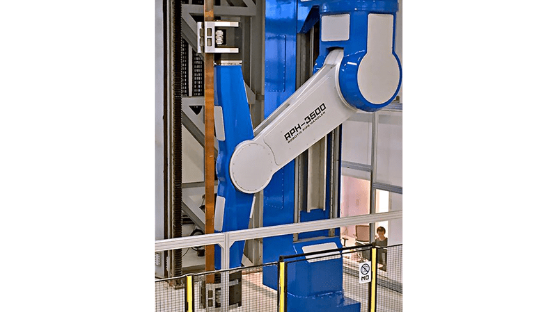 Robotic Pipe Handler RPH-3500 – Photo courtesy of Nabors