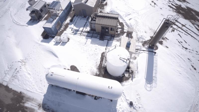 Site Layout in Kenmare, North Dakota