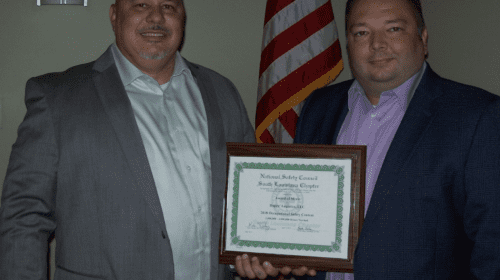 National Safety Council Presents Dupré Logistics with Occupational Safety Award
