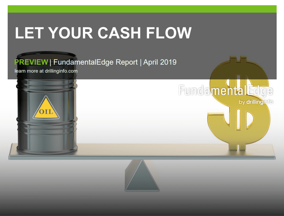 Drillinginfo: 2019 Will Be the Yearof Reduced CAPEX