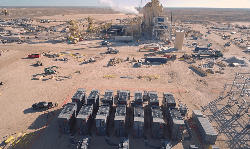 New frac sand mines speed to market with natural gas-powered generators