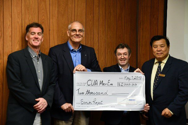 Phoenix Donates Funding & Advisement To The Catholic University Of America School Of Engineering Design Project