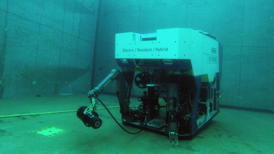 The E-ROV Drone – Photo courtesy of Equinor