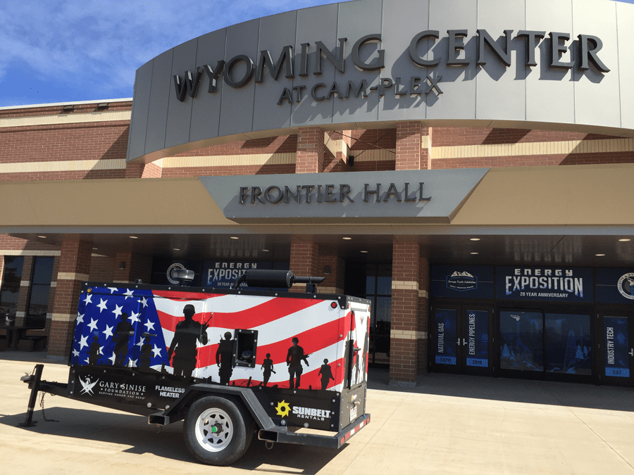 The Entrance to the Energy Expo at the Wyoming Center