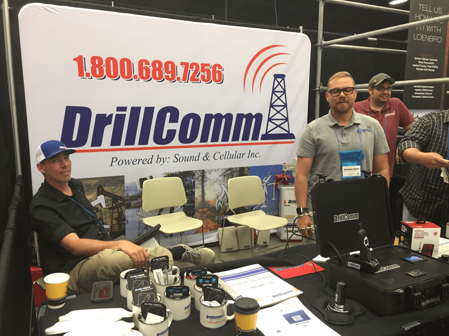 Team members from DrillComm
