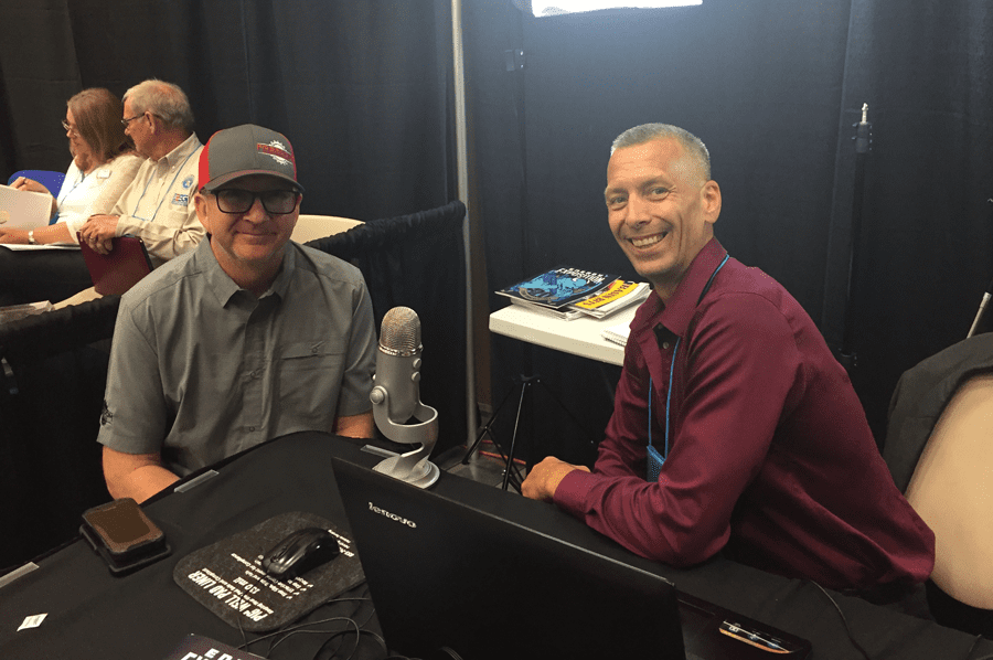 Jason Spiess interviewing Bob Donner, Founder of Freedom Manufacturing