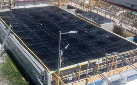 Anue Geo-Membrane systems eliminate odors in all shapes and sized applications