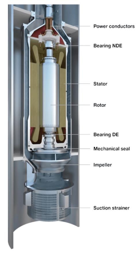 Electro Sumergible Pumping Image courtesy of Framo