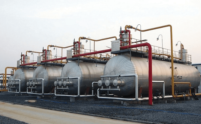 Triphase Separator Photo courtesy of China Oil HBP Group