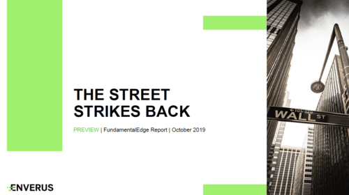 The Street Strikes Back: Oil & Gas Operators Shown No Mercy