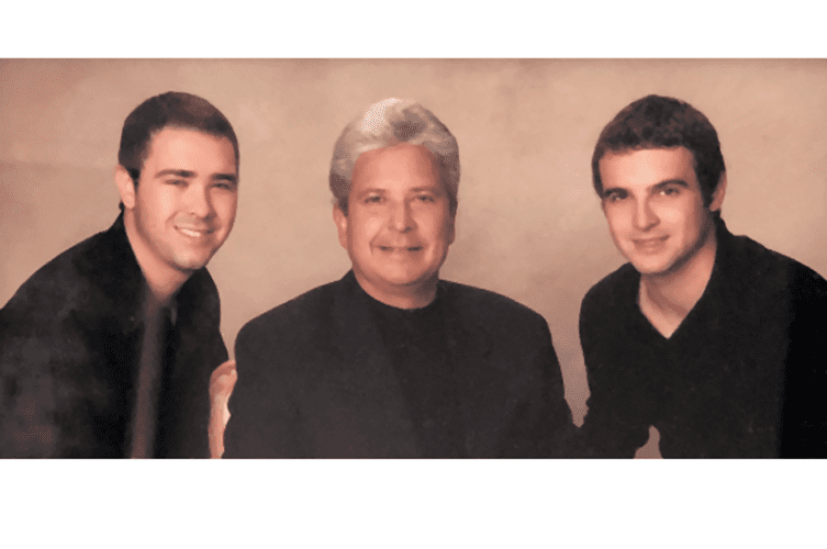 Randy Velarde and sons: Vincent and Garrett – Photo courtesy of The Plaza Group