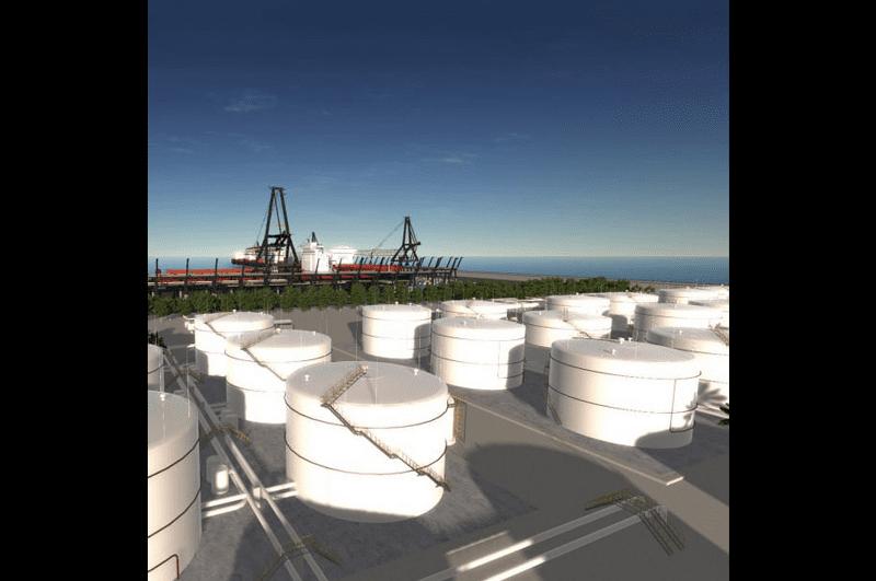 Unigine VR Refinery Model – Photo courtesy of Unigine
