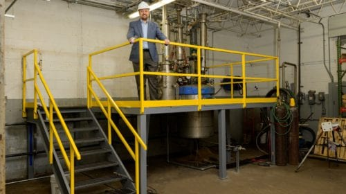 MFG Chemical Upgrades Pilot Plant in Dalton, GA
