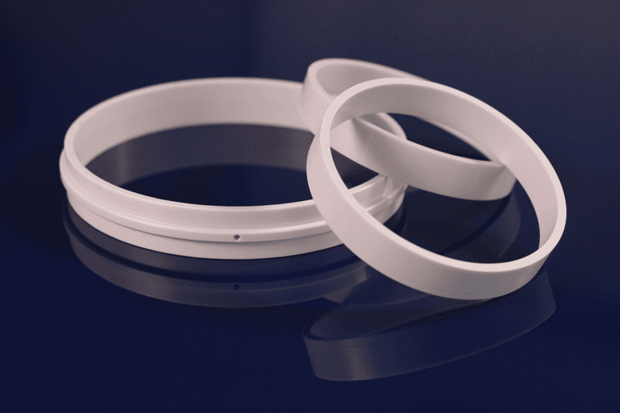 Case wear rings for Centrifugal multistage pump.