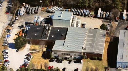 MFG Chemical, Dalton Plant Aerial Photo