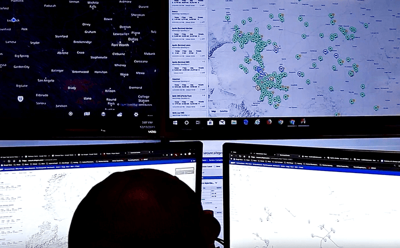The human element of the autonomous oilfield allows a small number of technicians at a central location to monitor hundreds of wells across thousands of acres. This improves operations, reduces downtime and makes each person more efficient.