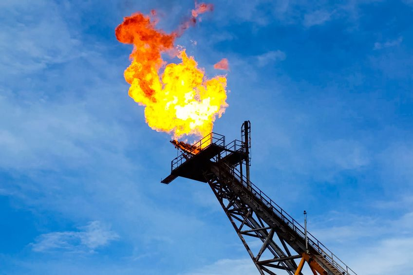 Reduction in gas flaring benefits producers and the environment