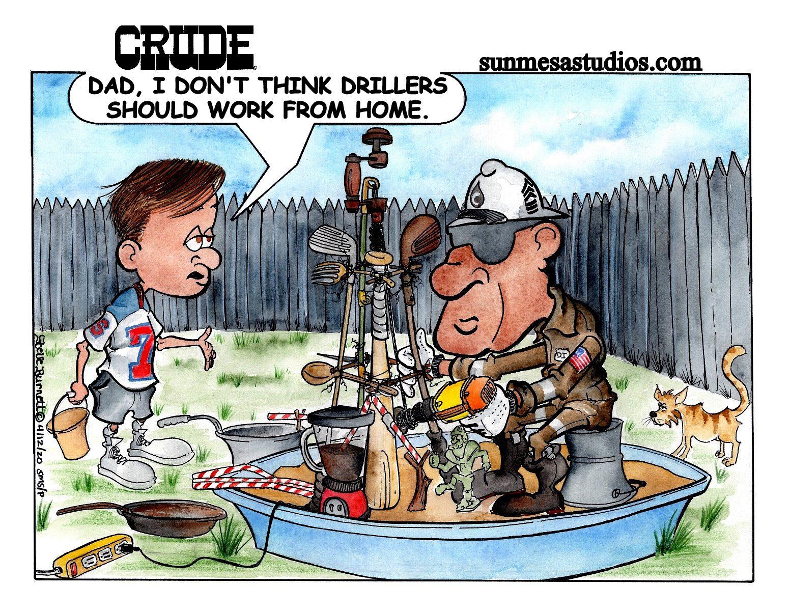 Work Home Driller
